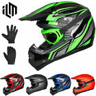 6ILM Youth Kids ATV Motocross Dirt Bike Motorcycle Downhill Off-Road Helmet DOT