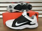 Nike Tour Premiere Golf Shoes White Black Brooks Koepka FastFit SZ (A02241-100)