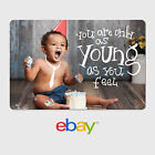 Kyпить eBay Digital Gift Card - As young as you feel -  Email delivery на еВаy.соm
