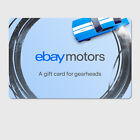 eBay Motors Gearhead  Digital Gift Card - $25 to $200 Email Delivery