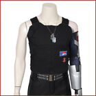 Man Halloween Costumes Punk 2077 Keanu Reeves Cosplay Costume Embroidery Vest