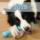Pet Dogs Bite-resistant Interactive Toy Molar Chew Fake Bone Teething Cleaning