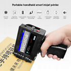 Fast dry Portable Handheld jet printer Touch Screen Date Word QR Barcode Logo