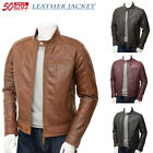 Brown Leather jacket - Mens Leather jacket $119.0 USD on eBay