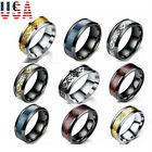 Fashion Carbide Celtic Dragon Tungsten Carbide Men's Wedding Band Rings 7-11MM image