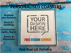 Personalised Promotional Coasters - Business Marketing - Fundraising - Events