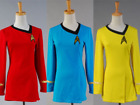 Star Trek TNG Female Duty Halloween Cosplay Dress Costume Party Uniform 3 Colors on eBay