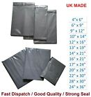 GREY MAILING BAGS SELF SEAL FULL SIZE RANGE QUALITY MAILER POSTAE POLY BAGS