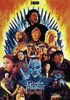 Game of Thrones Art Poster Season 1 2 3 4 5 6 7 8 - NEW - 11x17 13x19