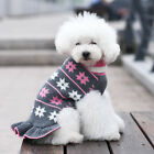 kyeese Fashion Dog Sweater Turtleneck Dog Pullover Knit Fall Winter Warm US Ship