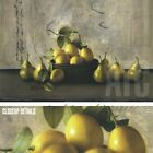"""36W""""x24H"""" RESOLUTION by SHERRY LOEHR - PEARS FRUIT BOWL VASE CHOICES of CANVAS"""