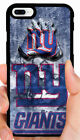 NEW YORK GIANTS NFL PHONE CASE FOR iPHONE XS MAX XR X 8 7 PLUS 6S PLUS 5C 5 SE 4 $19.88 USD on eBay