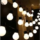 100M STRING LIGHTS OUTDOOR GARDEN PARTY FESTOON LED BULB WEDDING GLOBE