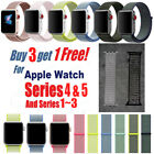 NEW colors Nylon Woven Sport Loop Watch Band Strap For Apple Watch Series4 3 2 1 image