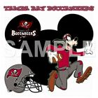 Disney Tampa Bay Buccaneers personalized iron on transfer (choice of 1) $3.0 USD on eBay