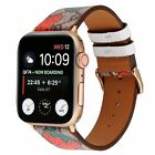 Luxury Leather Strap iWatch Band For Apple Watch SE Series 6/5/4 38/40MM 42/44MM