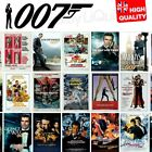 James Bond 007 Movie 1962-2020 Daniel Craig Posters Sean Connery | A4 A3 A2 A1 | £14.99 GBP on eBay