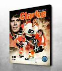 Bobby Clarke Philadelphia Flyers PORTRAIT PLUS NHL® LICENSED Collectible Canvas $74.99 USD on eBay