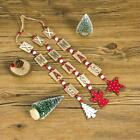 3XChristmas Decorations Wooden Ornament Xmas Tree Hanging Pendant Ornament Neu