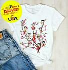 Betty Boop Sitting On Branches Ladies T-Shirt White Cotton S-5XL $29.19 CAD on eBay