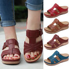 Внешний вид - Women Premium Orthopedic Open Toe Sandals Vintage Anti-slip Breathable SALE