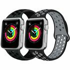 For iWatch Apple Watch Series1/2/3/4/5 Wristband Silicone Replacement Band Strap image