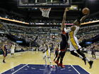 Paul George Indiana Pacers Slam Dunk NBA Wall Print POSTER FR on eBay