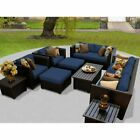 Sectional Outdoor Patio Wicker Rattan Sofa Sets Pe Deck Couch Garden Furniture S