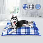 Large Dog Bed Indestructible Removable Cover Washable Pet Bed Cushion  Cover