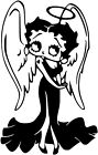 Betty Boop Sticker Vinyl Decal All Colours - Betty034 £4.99 GBP on eBay