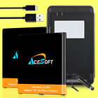 AceSoft 3570mAh Battery or Desktop Charger for Samsung Galaxy J3 Emerge SM-J327P