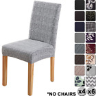 Dining Chair Covers Removable Washable Spandex Slipcovers for High Chairs