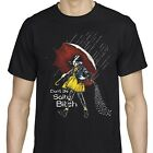 Don't Be A Salty Bitch Funny T-Shirt Adult Humor Cotton Men's Black Tee US Size image