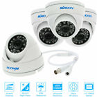 LOT KKmoon 1080P AHD Dome CCTV Camera 24 IR Lamp Night Vision Outdoor NTSC A1E6