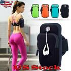 Armband Sport Case Running Arm Bag Running Jogging Gym For Mobile Phones Keys US image