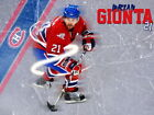 Brian Gionta Montreal Canadiens NHL Wall Print POSTER US $19.95 USD on eBay