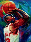 Michael Jordan Chicago Bulls Art NBA Basketball Print POSTER US on eBay