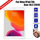 100 Genuine Tempered Glass film Screen Protector for New iPad 7th Gen 10.2 2019