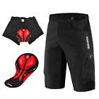 Men's Cycling Baggy Shorts Padded MTB Mountain Bike Racing Short Pants Bicycle