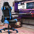 Recline Gaming Chair Ergonomic Computer Office Chair Rocking with Weight