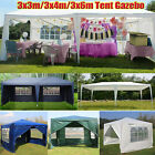 Gazebo Marquee Party Tent Wedding Canopy Pavilion Sun Shade Shelter Waterproof