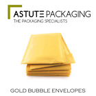 Gold Padded Internal Bubble Lined Postal Bag Envelopes Various QTY *BEST PRICES*