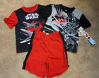 NWT Boys Star Wars 3 Piece Pajama Set, 2 shirts, 1 short MSRP: $36 Free Shipping $15.99 USD on eBay
