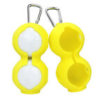 Carabiner Holder Gift Sport Accessoires Soft Golf Ball Cover Silicone Double
