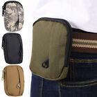 Unisex Camouflage Waist Bag Camping Hiking Coin Purse Wear Resistant Practical