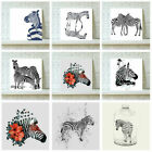 Animal Art Prints Zebra Family Wall Art Painting Picture Home Room Hotel Mural