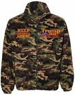 Donald Trump 2020 Camouflage Embroidered Sierra Pacific 3061 Fleece Jacket