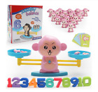 Monkey Balance Cool Math Game Fun Learning, Educational Toy Gift for Kids Boy