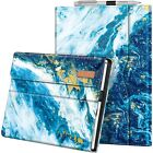 For 12.3 Inch Microsoft Surface Pro 7 2019 Case Portfolio Stand Cover w/ Pocket