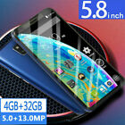 5.8' M20 Pro 4gb+32gb Face Unlocked Android 8.0 Core Dual-sim Mobile Smartphone